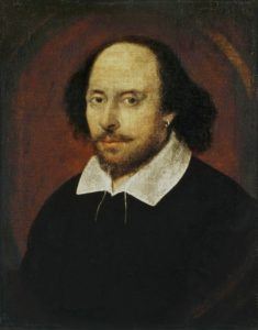 The Chandos Portrait of William Shakespeare, vermutlich von John Taylor