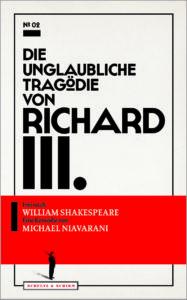 """Das Cover von """"Richard III."""" (300 dpi)"""