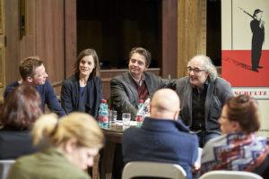 Klaus Eckel, Helen Zellweger, Christoph Wagner-Trenkwitz und Michael Niavarani, copyright Schultz & Schirm und Markus Wache