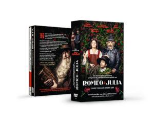 """DVD-Box """"Romeo & Julia"""" vorne und hinten"""