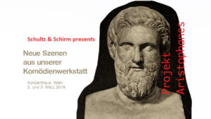 Flyer Projekt Aristophanes im Konzerthaus Wien