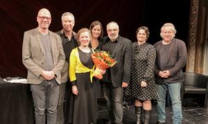"""Jury und Gewinnerin von """"Die Freiheit des Lachens"""""""