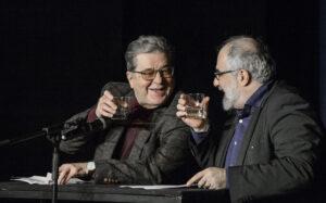 Erwin Steinhauer und Michael Niavarani bei einer Doppelconférence | © Ulrike Rauch