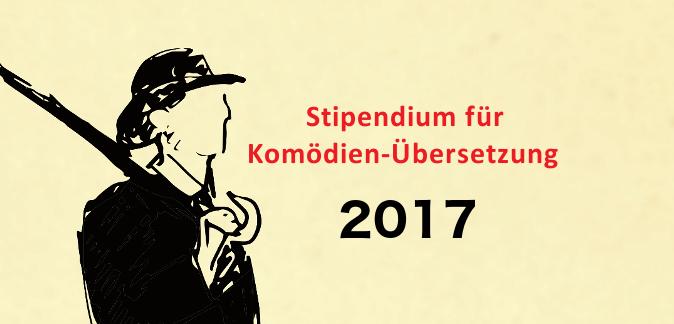 Stipendium für Komödien-Übersetzung 2017