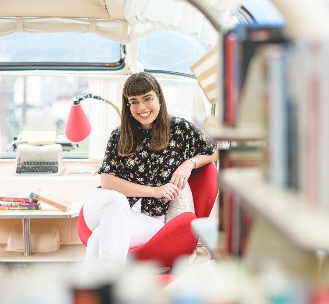 Theodora Bauer wird Moderatorin von literaTOUR
