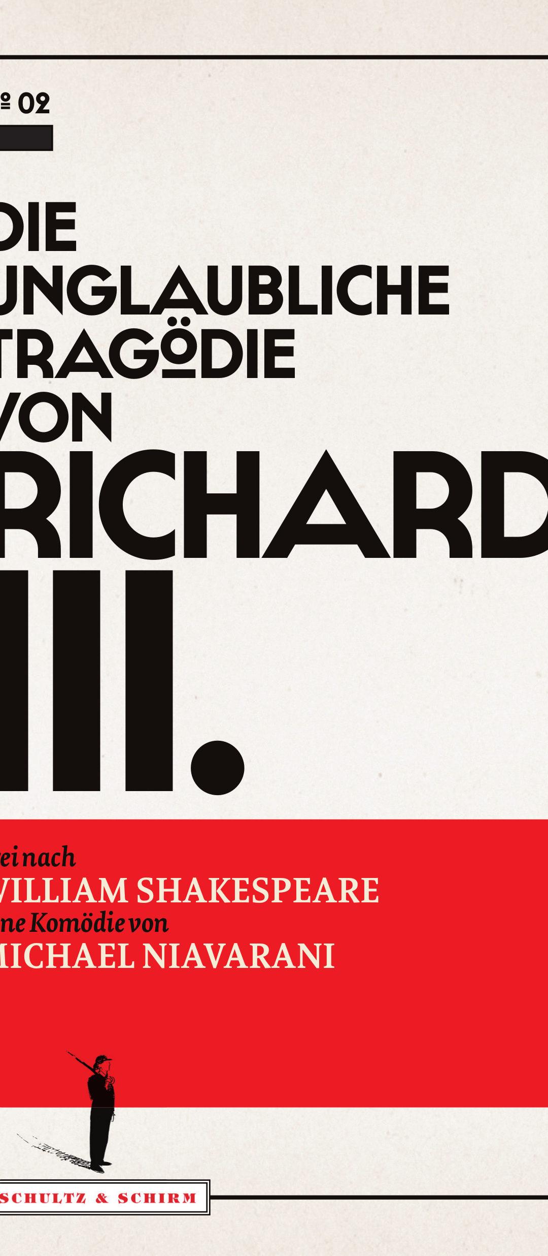 """Cover von """"Die unglaubliche Tragödie von Richard III."""""""