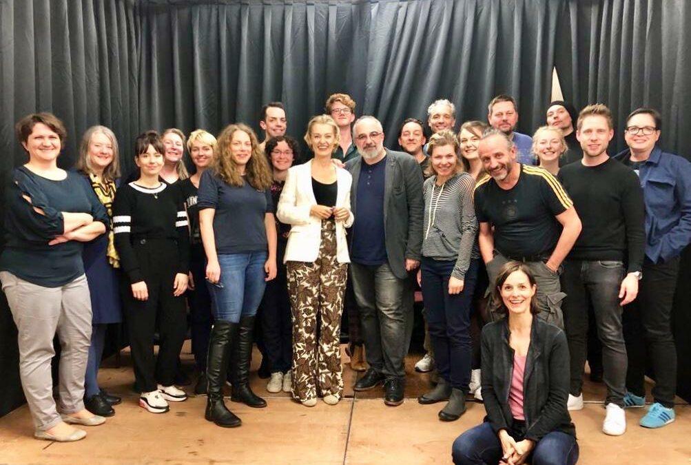 """Team beim """"Projekt Aristophanes"""" am 8. und 9. Mai 2019"""