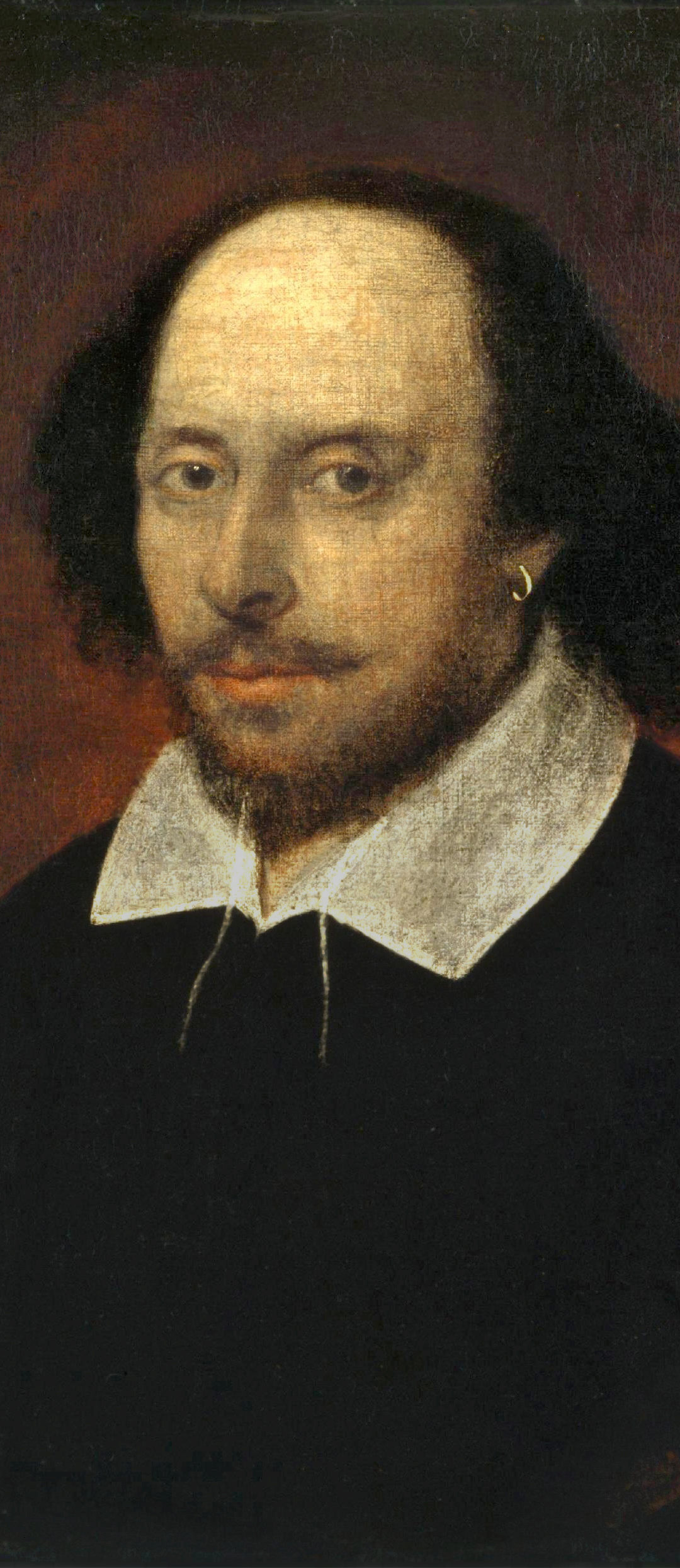 The Chandos Portrait von William Shakespeare