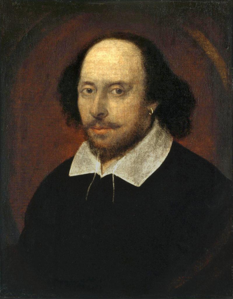 The Chandos Portrait von William Shakespeare